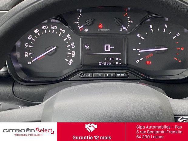 Photo miniature de la Citroën C3 BlueHDi 100ch Feel S&S E6.d-TEMP 2019 d'occasion
