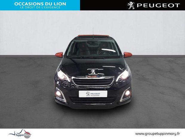 Photo miniature de la Peugeot 108 VTi 72 Top! Roland Garros 5p 2018 d'occasion