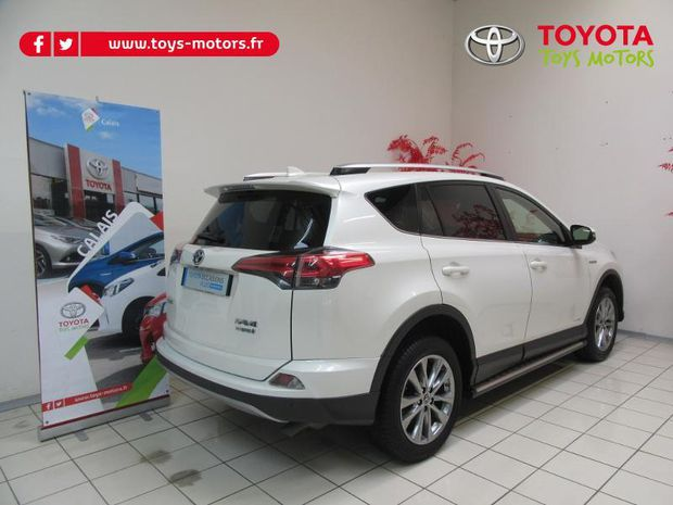 Photo miniature de la Toyota RAV4 197 Hybride Dynamic Edition 2WD CVT 2017 d'occasion