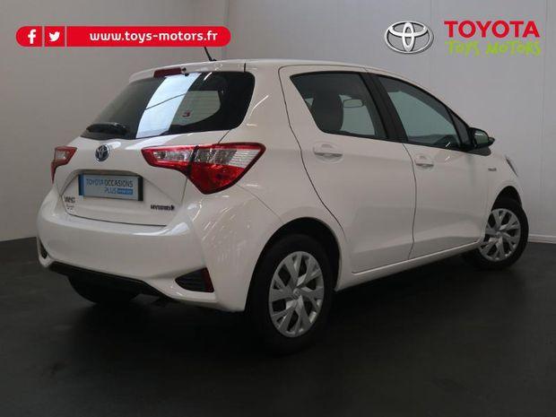 Photo miniature de la Toyota Yaris 100h France 5p 2018 d'occasion