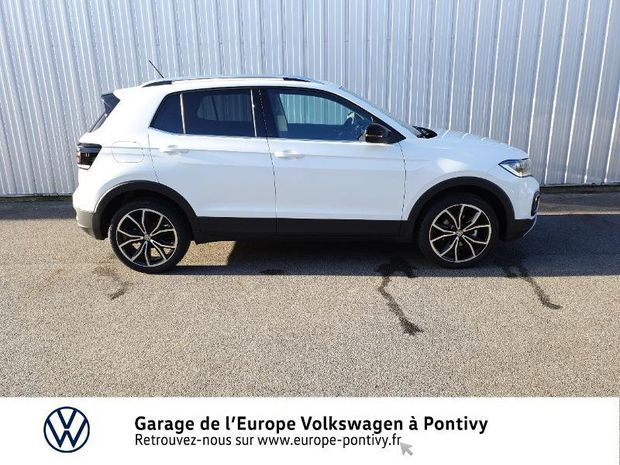 Photo miniature de la Volkswagen T-cross 1.0 TSI 115ch Carat DSG7 2020 d'occasion