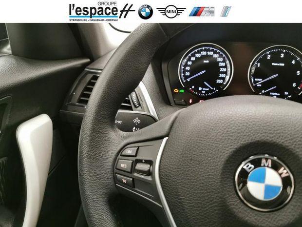 Photo miniature de la BMW Serie 1 116d 116ch cinq portes Lounge 2019 d'occasion
