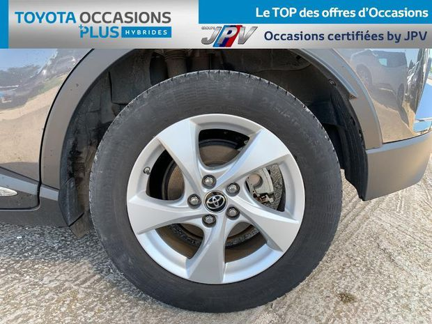 Photo miniature de la Toyota C-HR 122h Dynamic 2WD E-CVT 2018 d'occasion