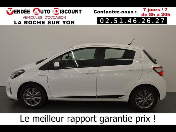 Photo miniature de la Toyota Yaris 100h Collection 5p 2017 d'occasion