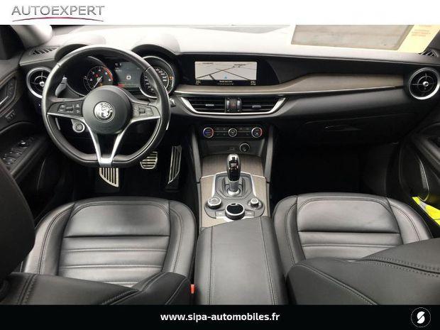 Photo miniature de la Alfa Romeo Stelvio 2.2 Diesel 210ch Lusso Q4 AT8 2018 d'occasion