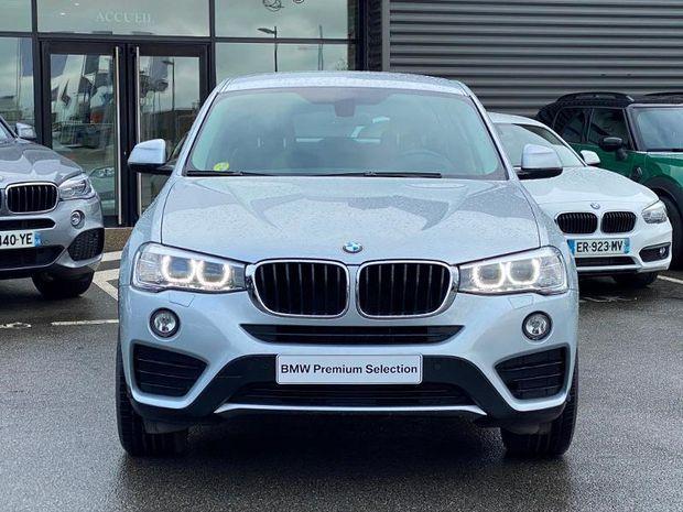 Photo miniature de la BMW X4 xDrive20dA 190ch Lounge Plus 2017 d'occasion