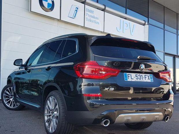 Photo miniature de la BMW X3 xDrive30iA 252ch Luxury Euro6d-T 2019 d'occasion