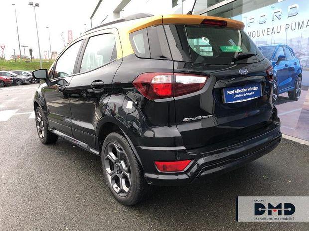 Photo miniature de la Ford EcoSport 1.5 EcoBlue 125ch ST-Line Noir/Jaune 4x2 2019 d'occasion