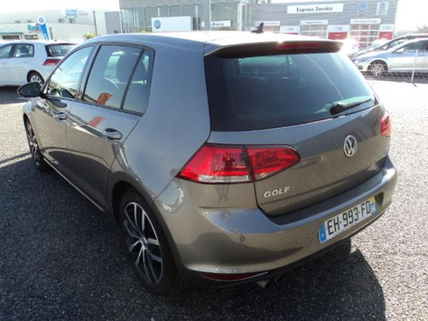 Photo miniature de la Volkswagen Golf 1.4 TSI 150ch ACT BlueMotion Technology Allstar DSG7 5p 2016 d'occasion