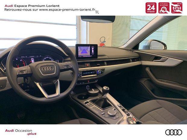 Photo miniature de la Audi A4 Avant 2.0 TFSI 150ch Design 2019 d'occasion
