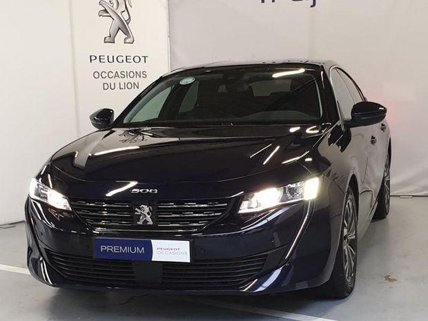 Photo miniature de la Peugeot 508 PureTech 180ch S&S Allure EAT8 2019 d'occasion