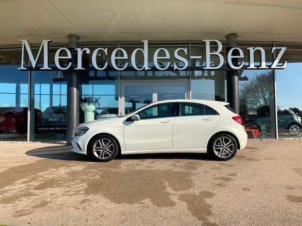 Photo miniature de la Mercedes Classe A 160 Inspiration 7G-DCT 2017 d'occasion