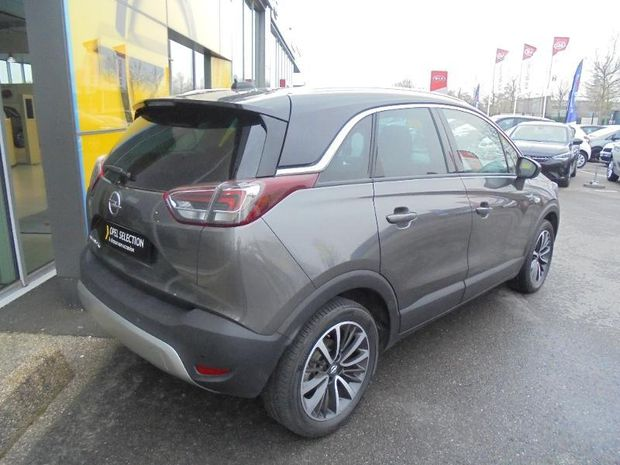 Photo miniature de la Opel Crossland X 1.2 Turbo 110ch Design 120 ans BVA Euro 6d-T 2019 d'occasion