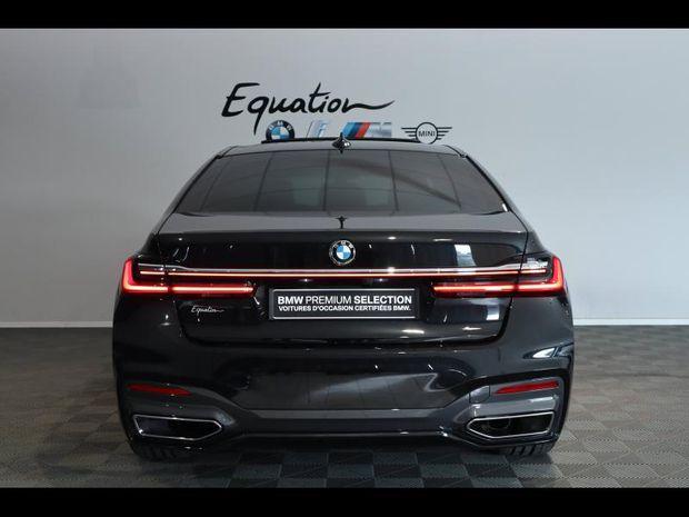 Photo miniature de la BMW Serie 7 Série 7 730dA xDrive 265ch M Sport 2020 d'occasion