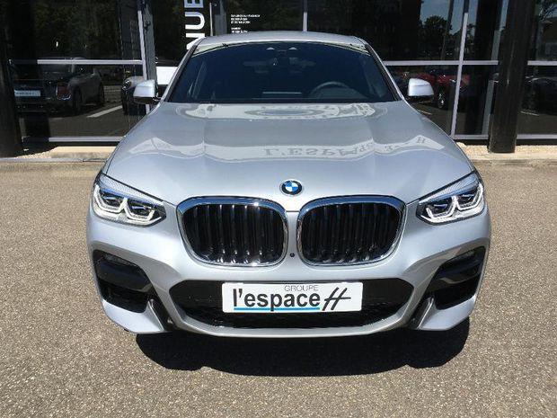 Photo miniature de la BMW X4 xDrive20d 190ch M Sport Euro6d-T 131g 2020 d'occasion