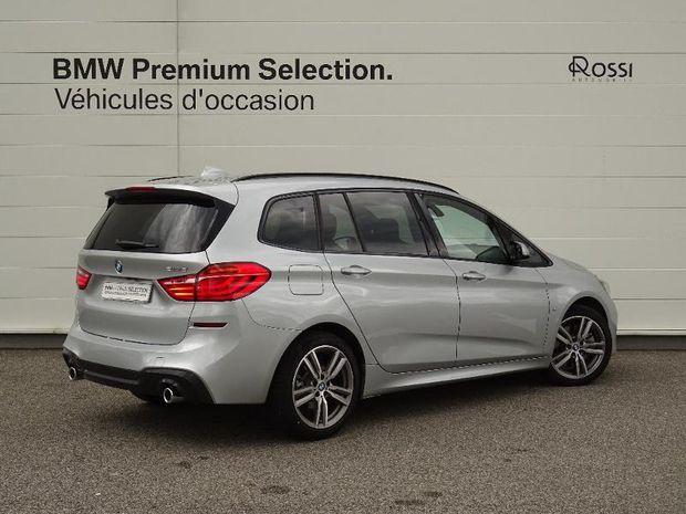 Photo miniature de la BMW Serie 2 Gran Tourer 218dA 150ch M Sport 112g 2020 d'occasion