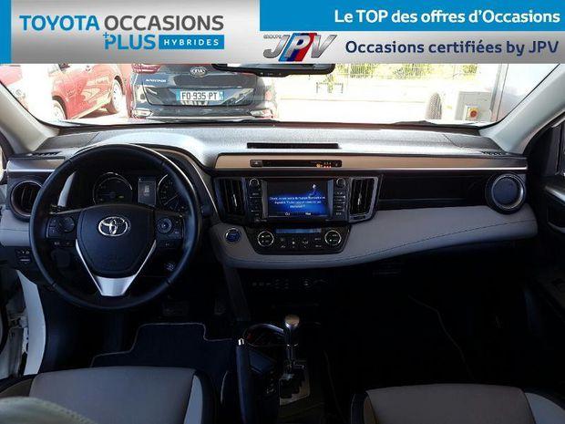 Photo miniature de la Toyota RAV4 197 Hybride Lounge 2WD CVT 2016 d'occasion