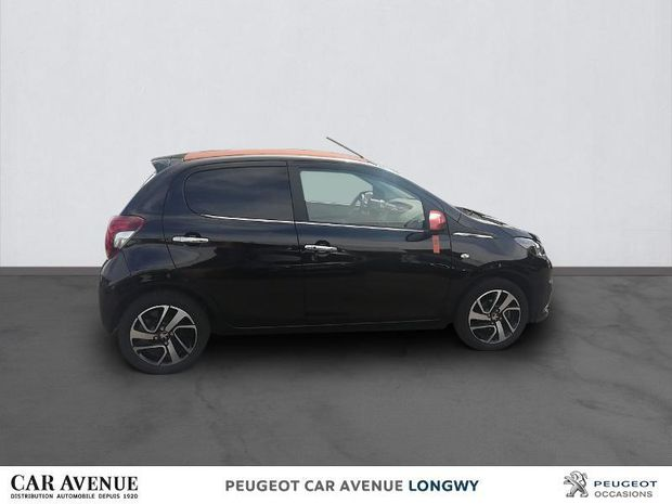 Photo miniature de la Peugeot 108 VTi 72 Top! Roland Garros 5p 2018 d'occasion