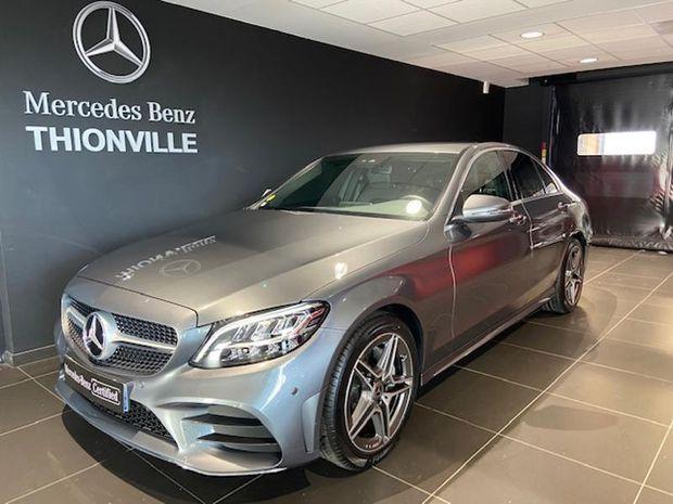 Photo miniature de la Mercedes Classe C 200 d 160ch AMG Line 9G-Tronic 2018 d'occasion