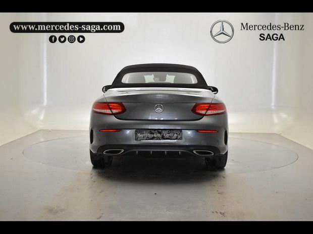 Photo miniature de la Mercedes Classe C Cabriolet 250 d 204ch Fascination 9G-Tronic 2016 d'occasion