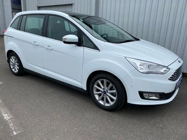 Photo miniature de la Ford Grand C-MAX 1.5 TDCi 120ch Stop&Start Titanium PowerShift 2018 d'occasion