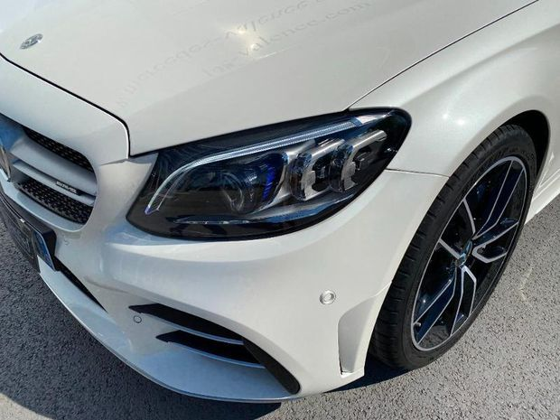 Photo miniature de la Mercedes Classe C Cabriolet 43 AMG 390ch 4Matic Speedshift TCT AMG Euro6d-T 2019 d'occasion