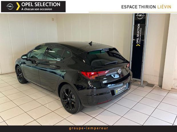 Photo miniature de la Opel Astra 1.4 Turbo 145ch Ultimate CVT 8cv 2020 d'occasion