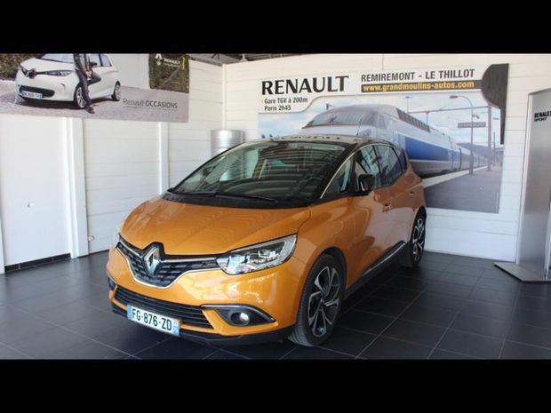 Photo miniature de la Renault Scenic 1.7 Blue dCi 120ch Intens EDC 2019 d'occasion