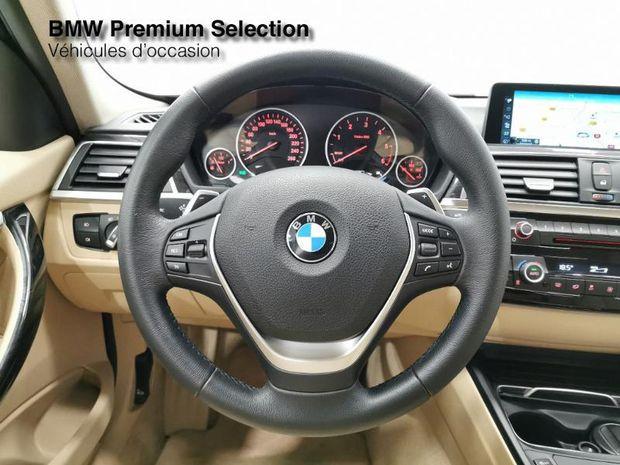Photo miniature de la BMW Serie 3 330dA 258ch Luxury 2017 d'occasion
