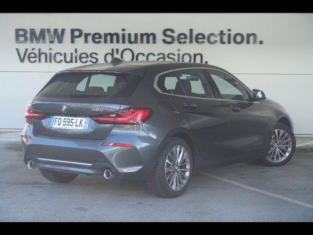 Photo miniature de la BMW Serie 1 118dA 150ch Luxury 2020 d'occasion