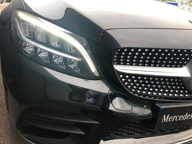 Photo miniature de la Mercedes Classe C Break 220 d 194ch AMG Line 9G-Tronic 2019 d'occasion
