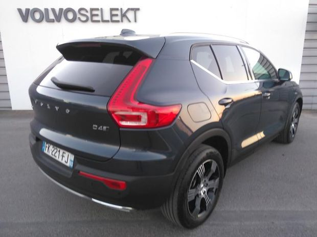 Photo miniature de la Volvo XC40 D4 AdBlue AWD 190ch Inscription Luxe Geartronic 8 2019 d'occasion