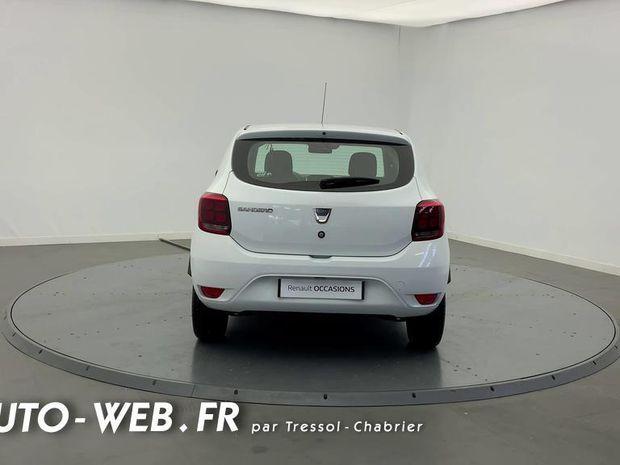 Photo miniature de la Dacia Sandero Blue dCi 95 Confort 2019 d'occasion