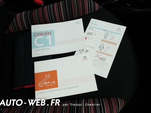 Photo miniature de la Citroën C1 VTi 72 Feel 2019 d'occasion