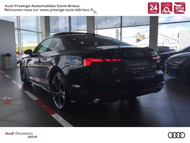 Photo miniature de la Audi A5 40 TDI 190ch S line quattro S tronic 7 2020 d'occasion