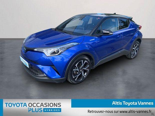 Photo miniature de la Toyota C-HR 122h Graphic 2WD E-CVT RC18 2018 d'occasion