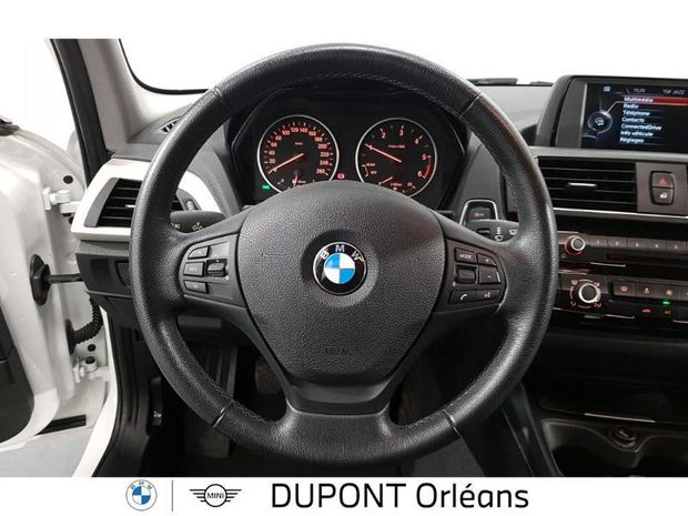 Photo miniature de la BMW Serie 1 114d 95ch Lounge 5p 2017 d'occasion