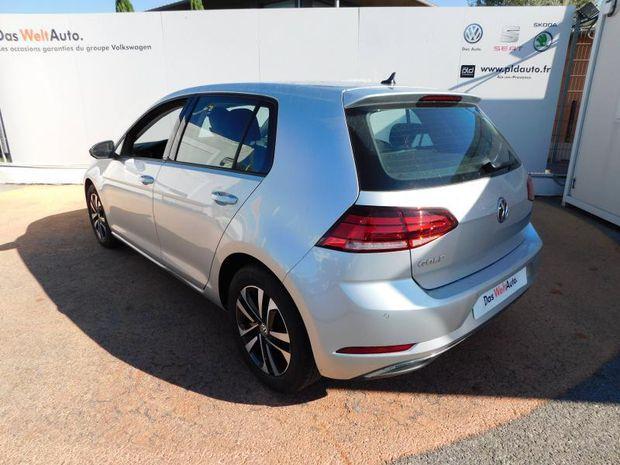 Photo miniature de la Volkswagen Golf 1.6 TDI 115ch FAP IQ.Drive DSG7 Euro6d-T 5p 2019 d'occasion