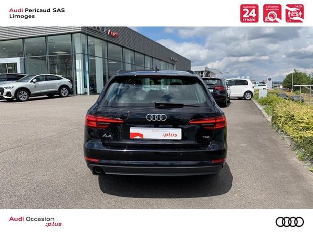 Photo miniature de la Audi A4 Avant 2.0 TDI 150ch Design S tronic 7 2018 d'occasion