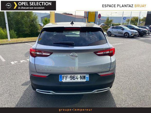Photo miniature de la Opel Grandland X 1.2 Turbo 130ch Design Line 2019 d'occasion