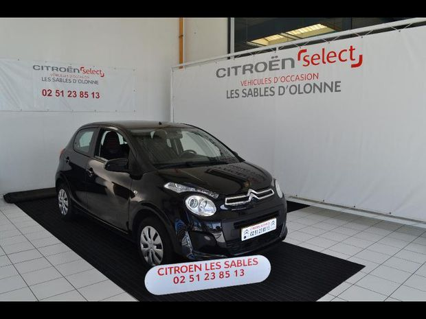 Photo miniature de la Citroën C1 VTi 72 Feel 5p 2018 d'occasion