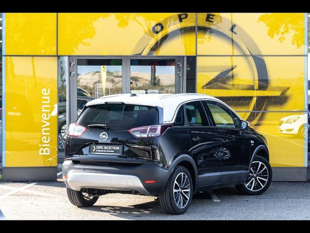Photo miniature de la Opel Crossland X 1.2 Turbo 110 Design 120 ans BVA Gps 2019 d'occasion