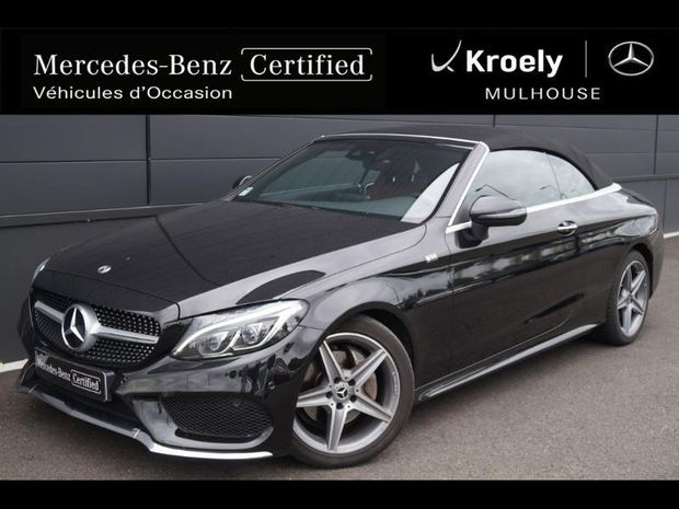 Photo miniature de la Mercedes Classe C Cabriolet 220 d 170ch Fascination 9G-Tronic 2018 d'occasion