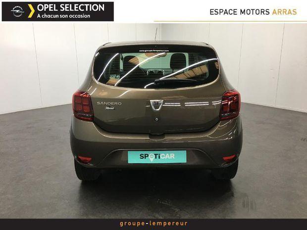 Photo miniature de la Dacia Sandero 0.9 TCe 90ch Lauréate 2017 d'occasion