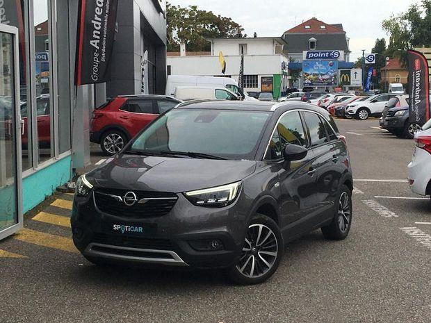 Photo miniature de la Opel Crossland X 1.2 turbo 110 Ultimate BVA Gps camera 2019 d'occasion