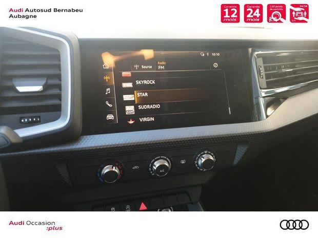 Photo miniature de la Audi A1 Sportback 30 TFSI 116ch Design 2019 d'occasion