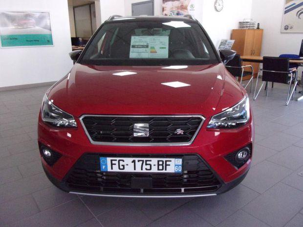 Photo miniature de la Seat Arona 1.0 EcoTSI 115ch Start/Stop FR DSG Euro6d-T 2019 d'occasion