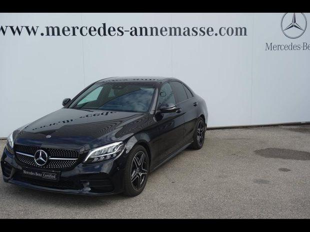Photo miniature de la Mercedes Classe C 200 d 150ch AMG Line 9G-Tronic 2019 d'occasion