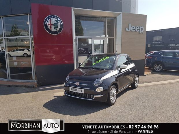 Photo miniature de la Fiat 500 1.2 69 CH ECO PACK 2020 d'occasion
