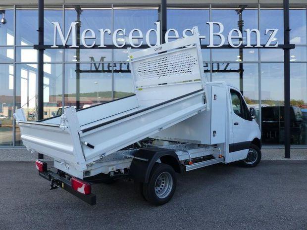 Photo miniature de la Mercedes Sprinter 514 Emp 37 PTRA 7T Benne + Coffre 2020 d'occasion
